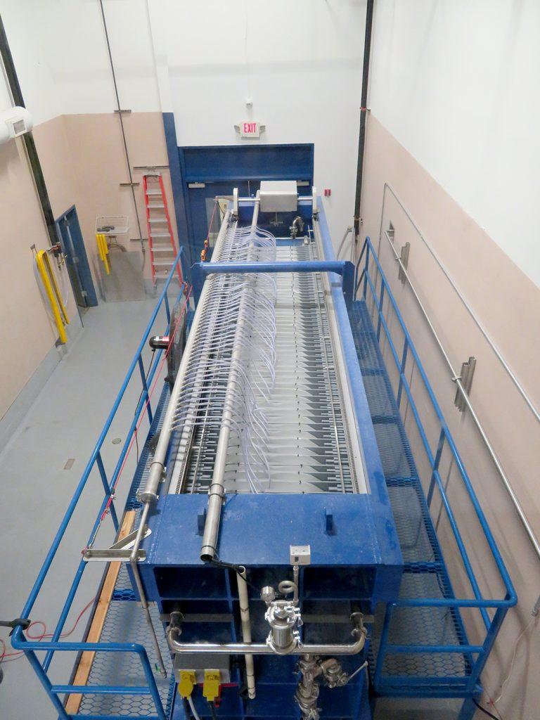 Overview of a yabuta machine at SakeOne.